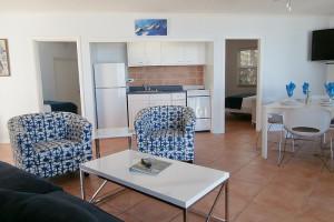 Guest living room at La Jolla Resort Hotel.