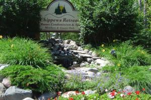 Garden at Chippewa Retreat Resort.