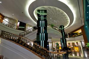 Lobby at Eastin Hotel.