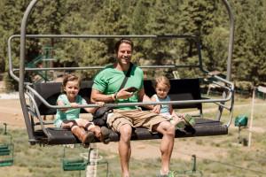 Family at Big Bear Vacations.