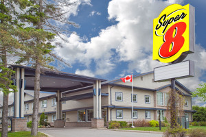 Exterior view of Super 8 Sault Ste. Marie.