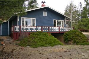 Cabin exterior at Valhalla Resort & Vacation.
