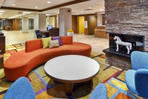 Lobby view at The Fairfield Inn by Marriott Owensboro.