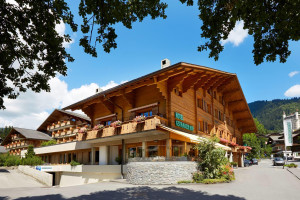 Exterior view of Gstaaderhof Swiss Quality Hotel Gstaad.