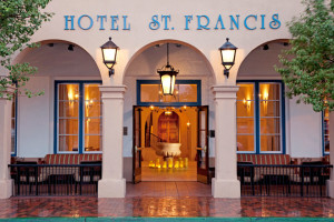 Exterior view of Hotel St. Francis.