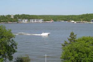 Lake view at Kapilana Resort.