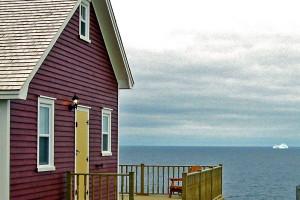 Exterior view of Elizabeth J Cottages.