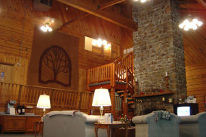 Lounge Area at the Smoketree Lodge