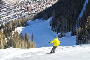 Skiing near Black Canyon Motel.