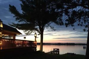 Lake view at Long John's Resort & RV Park.
