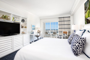 Guest room at Oceans Edge Key West Hotel & Marina.