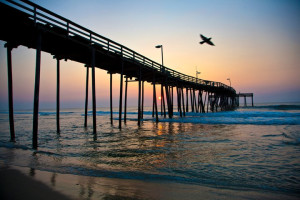 Sunset Boardwalk at Hatteras Realty