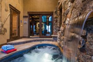 Rental spa at Utopian Luxury Vacation Homes.