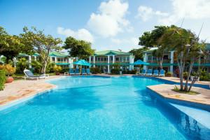 Outdoor pool at Villas at Banyan Bay.