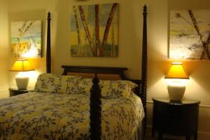 Guest bedroom at L'Habitation Guest House.