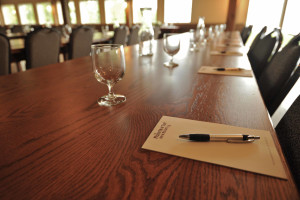 Meeting space at The Mountain Top Inn & Resort.