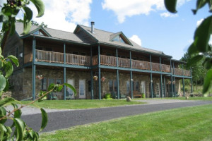 Exterior view of Seneca Springs Resort.