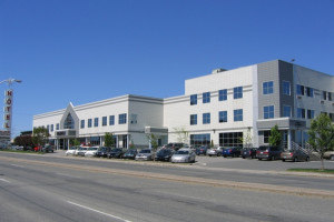 Exterior view of Hotel & Suites Le Dauphin Drummondville.