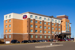 Exterior view of SpringHill Suites.
