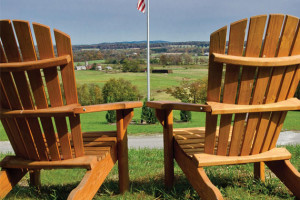 Take in the view at The Lodges at Gettysburg.