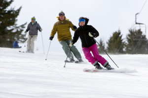 Skiing at Greek Peak Mountain Resort.