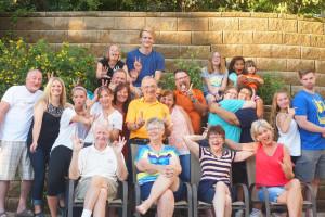 Reunions at Appeldoorn's Sunset Bay Resort.