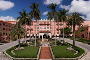 Exterior view of Boca Raton Resort and Club.