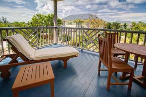 Balcony at Pineapple Fields.