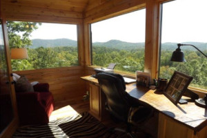 Scenic view at Nevaeh Cabins.