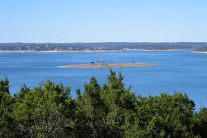 Lake view at Lake Pointe Resort.