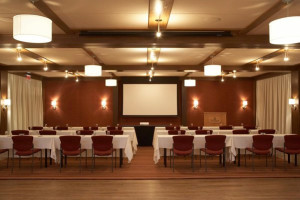 Banquet hall at The Woodstock Inn & Resort.