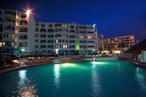 Outdoor pool at Aquamarina Beach Resort Hotel.