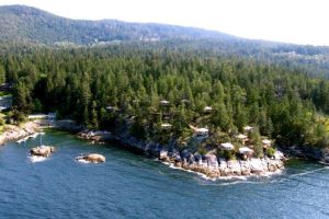 Arial View of Rockwater Secret Cove Resort