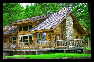 Exterior view of Still Waters Executive Retreat.