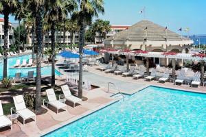 Outdoor pool at Loews Coronado Bay Resort.