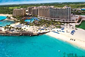Exterior view of Wyndham Nassau Resort & Crystal Palace Casino.