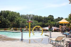 Outdoor pool at Yogi Bear's Jellystone Park Camp Resort Lodi.