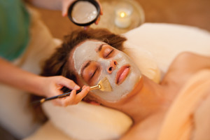 Facial at Tanque Verde Ranch.