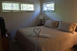 Guest bedroom at Sun Castle Resort Lakefront.