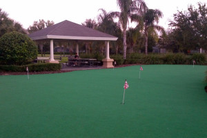 Putting course at Florida Dream Management Company.