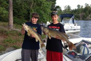 Fishing at Smith Camps.