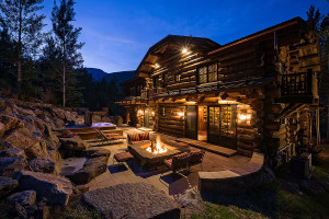 Rental patio at Vail Rentals by Owner.