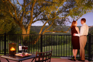 Couple at Omni Barton Creek Resort & Spa.