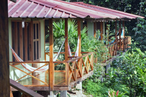 Exterior view of Yachana Amazon Lodge.