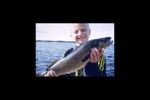 Fishing at Eagle Wing Resort.