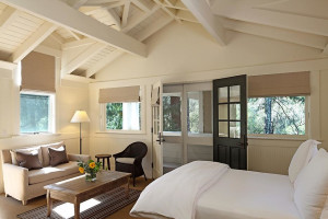 Woodland studio at Meadowood Napa Valley.