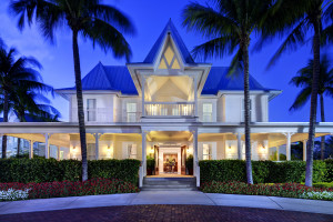 Exterior view of Tranquility Bay Beach House Resort.