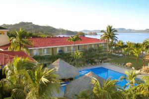 Exterior view of Flamingo Beach Resort.