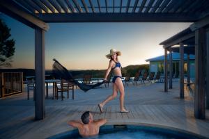 Outdoor pool at Travaasa Austin.