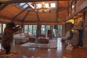 Rental living room at Chambers Realty & Vacation Rentals.